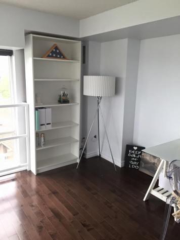 Bookshelf and Lamp from IKEA