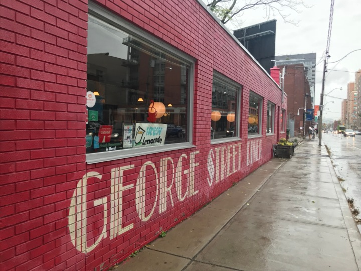 Toronto Eats: George Street Diner