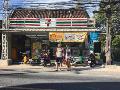 Navigating Thai streets, also in March