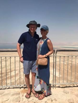Exploring Masada in June