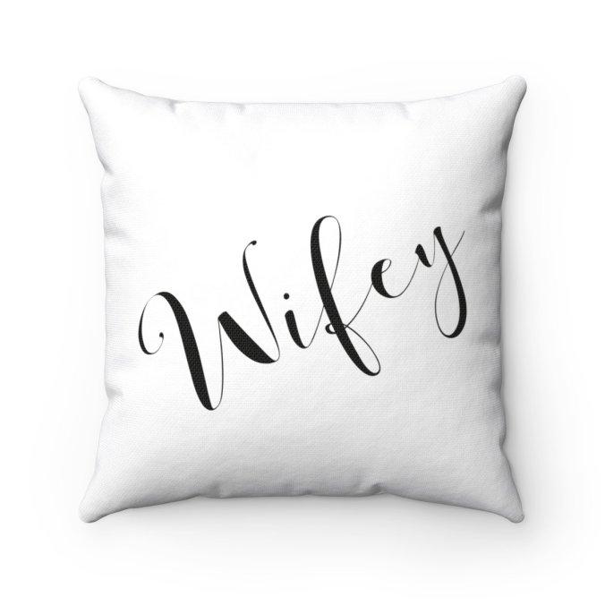 wifey pillow